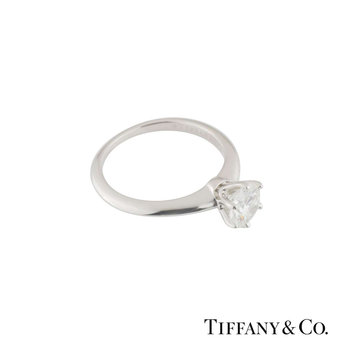Tiffany & Co. Setting Band Ring XXX 1.12ct I/VVS1